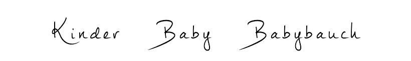 Kinder, Babybauch