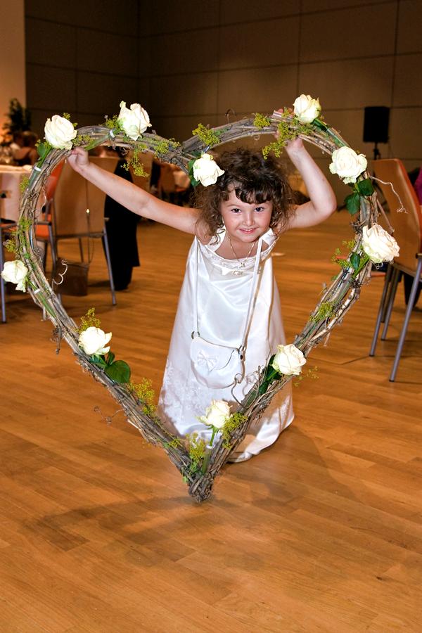 Hochzeit Würzburg Blumenmädchen
